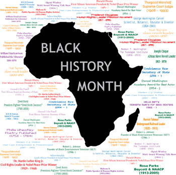 Black-History-Month-Map